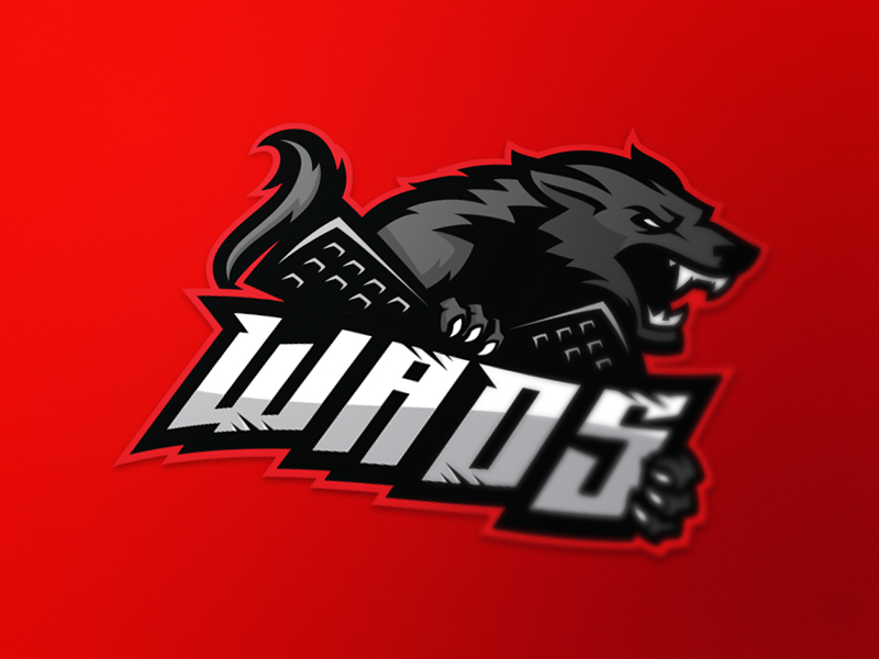 Diseño de logotipo del equipo Wads eSport