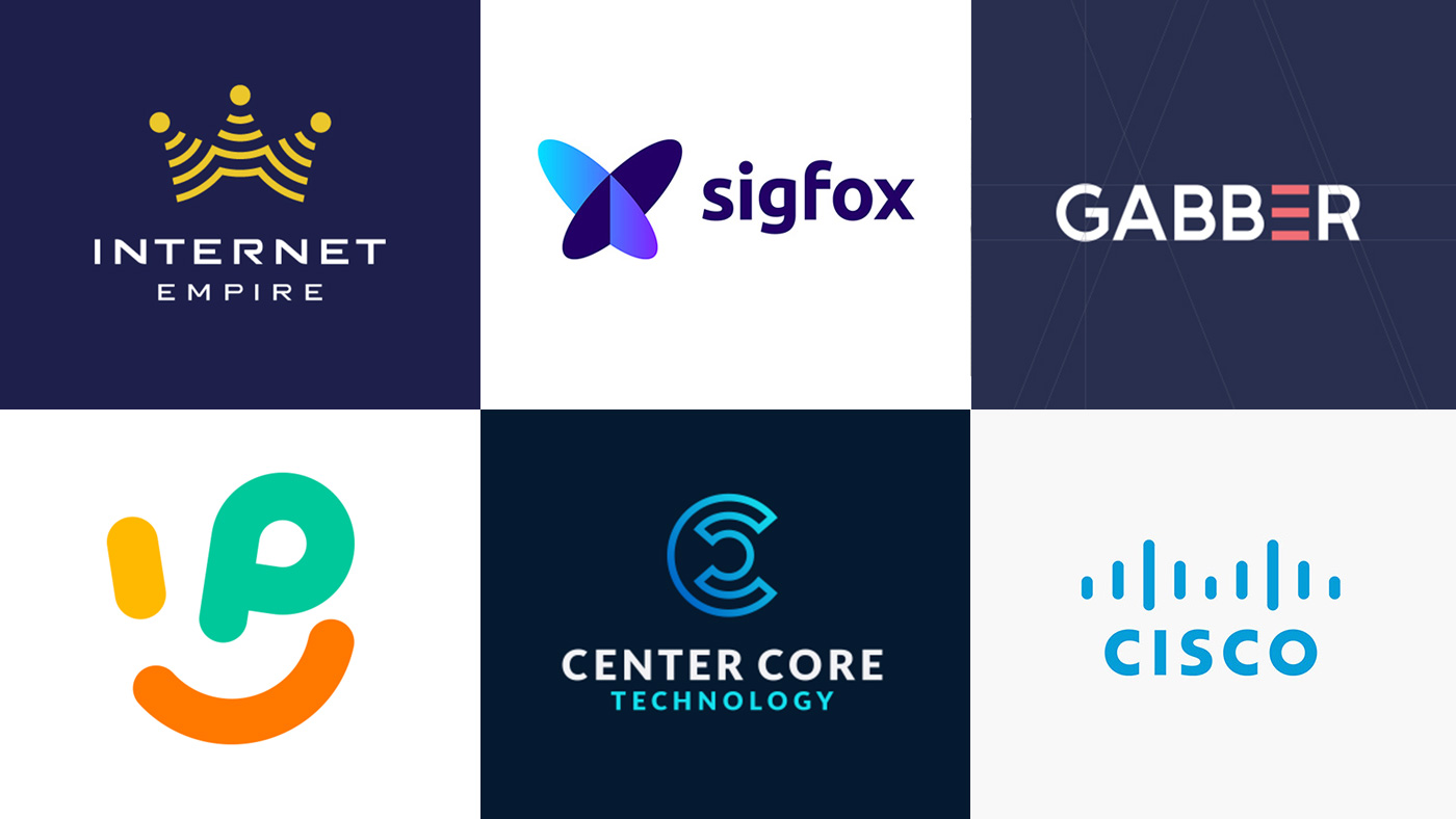 35 Best Internet And Technology Company Logo Designs For