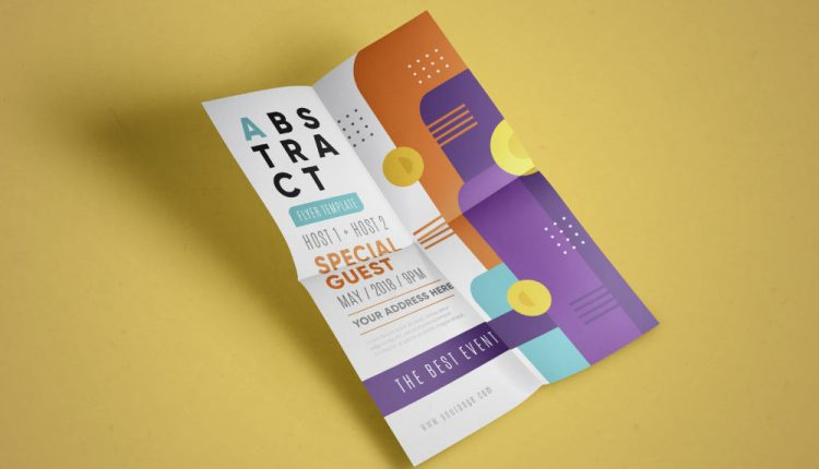 Freebie: 10 Abstract Flyer Templates for Your Next Events (AI, EPS)