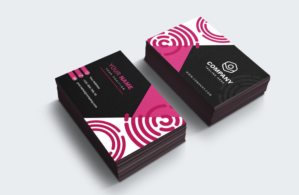 Freebie: 10 Modern Business Card Templates (AI, EPS)