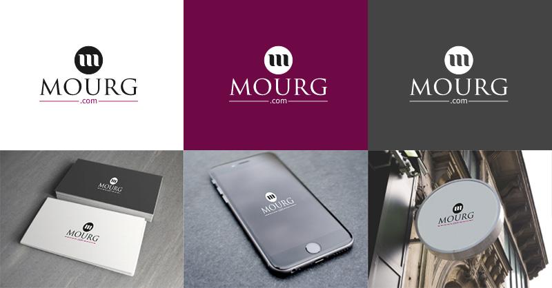 Mourg Technology Internet Logo by LogoAi.com