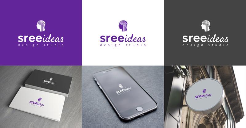 sree ideas design studio Technology Internet Logo by LogoAi.com
