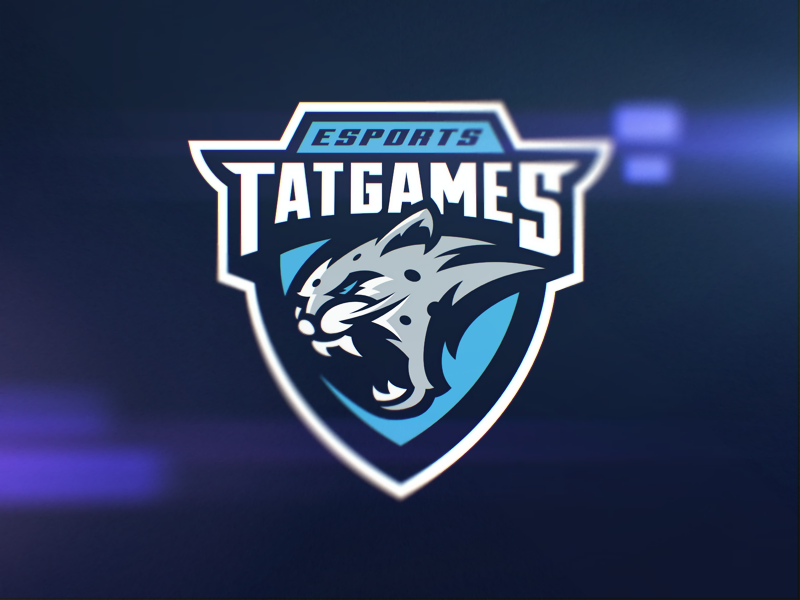 diseño de logotipo de leopardo eSport Team