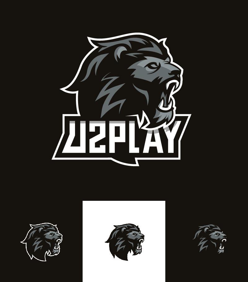 Logotipos de Equipos de eSports y gamers -  Lion - Branding de Enzo Ancenis