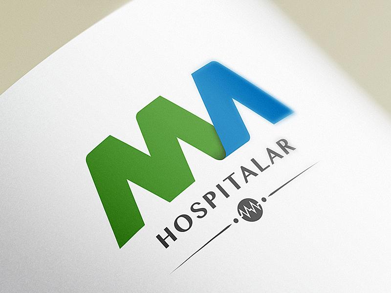 MA Hospitalar Logo by INDUSTRIA HED