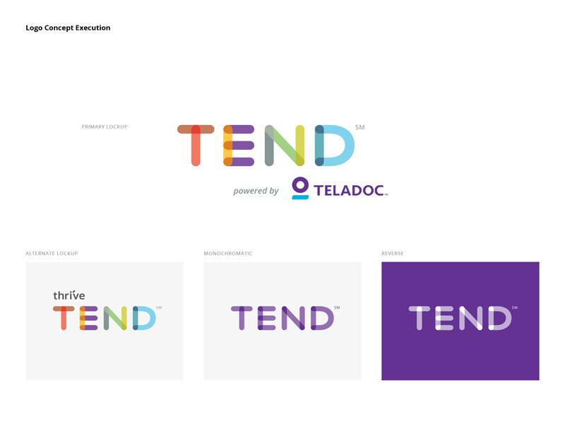 Concepto de marca de telemedicina por Paul Wronski