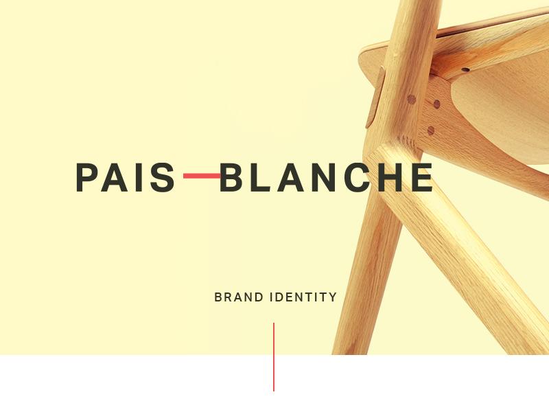 Furniture Logo - Pais Blanche Branding / Identity by Admir Hadzic