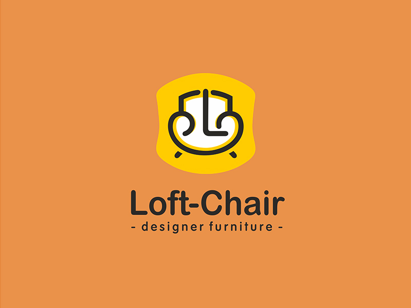 Furniture Logo - Loft-Chair by Olga