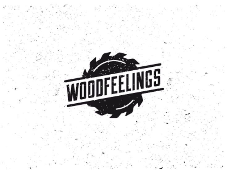 Furniture Logo - Wood by Luis Lopez Grueiro