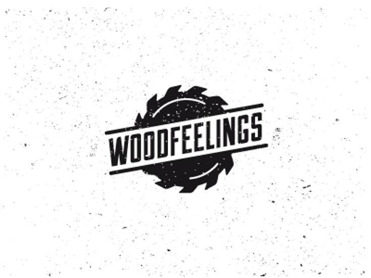 Furniture Logo - Wood by Luis Lopez Grueiro