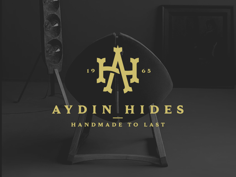 Furniture Logo - AYDIN Hides Logo by PopArt Studio