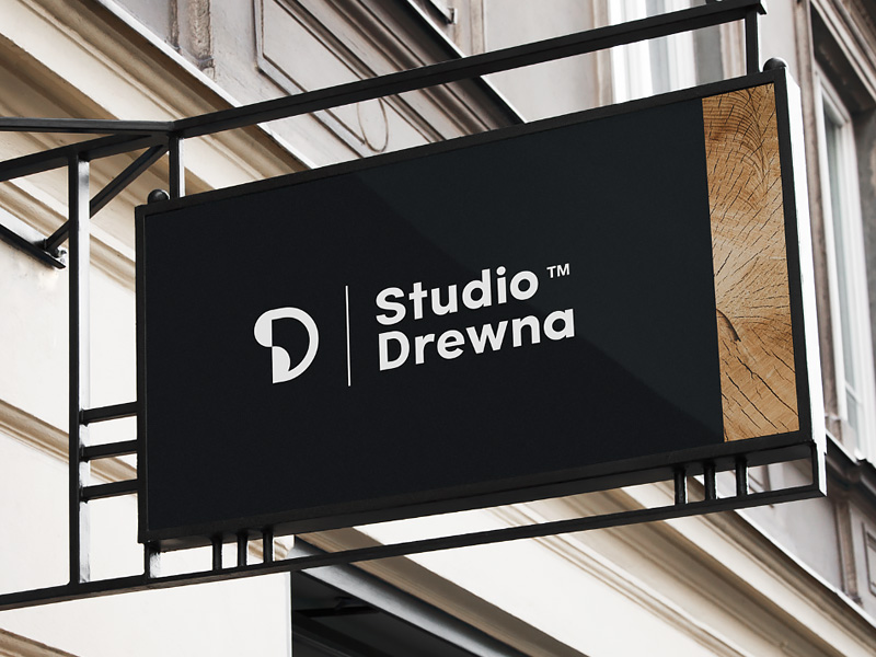 Furniture Logo - Studio Drewna by CHALLENGE Studio