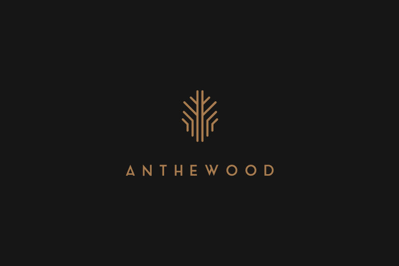 Furniture Logo - Anthewood Furniture by Sebastian Bednarek
