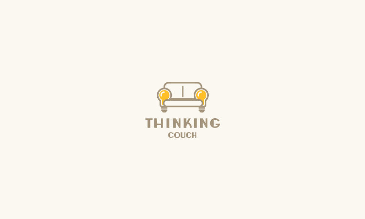 Furniture Logo - Thinking Couch by Gregory Grigoriou
