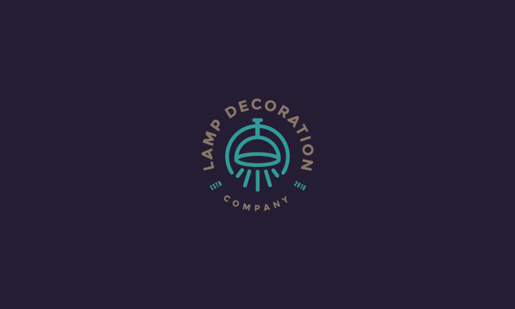 Furniture Logo - Lamp Decoration Company by Roden Dushi