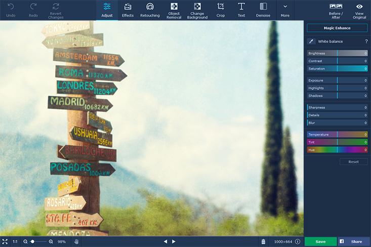 Movavi Photo Editing Software
