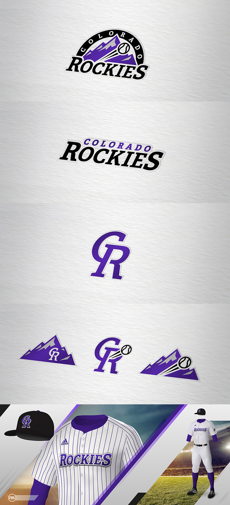Colorado Rockies (Concept) by Manuel Dos Santos