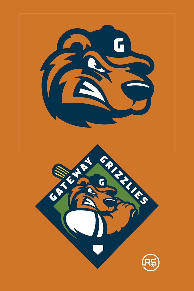 Gateway Grizzlies Redesign Concept by Rene Sanchez