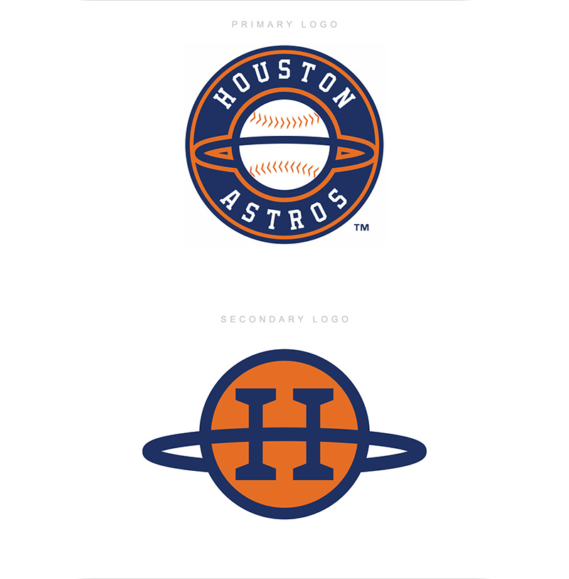 Houston Astros Identity Concept by Evan Hessler