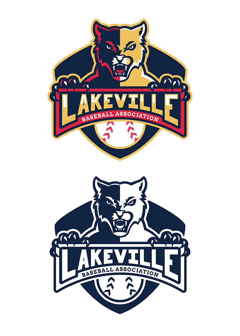 Lakeville Baseball - Logo Design by Lindsey Windfeldt