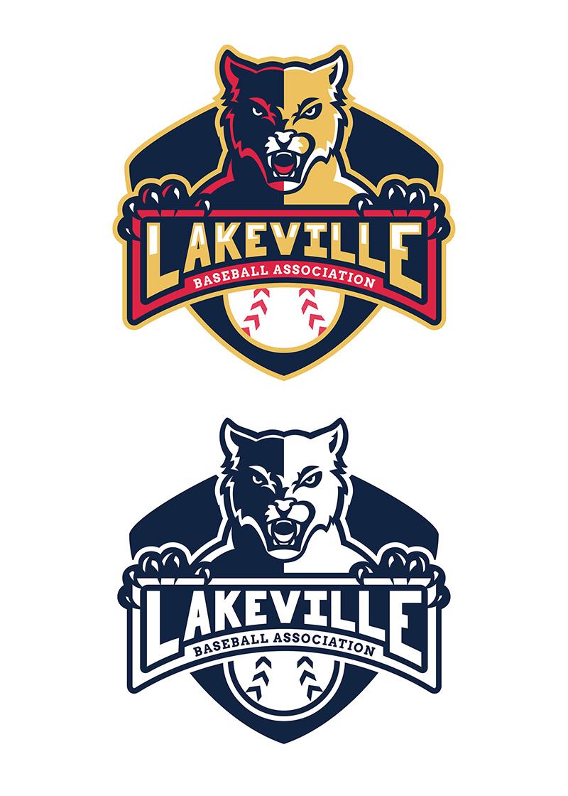Lakeville Baseball - Logo Design by Lindsey Windfeldt