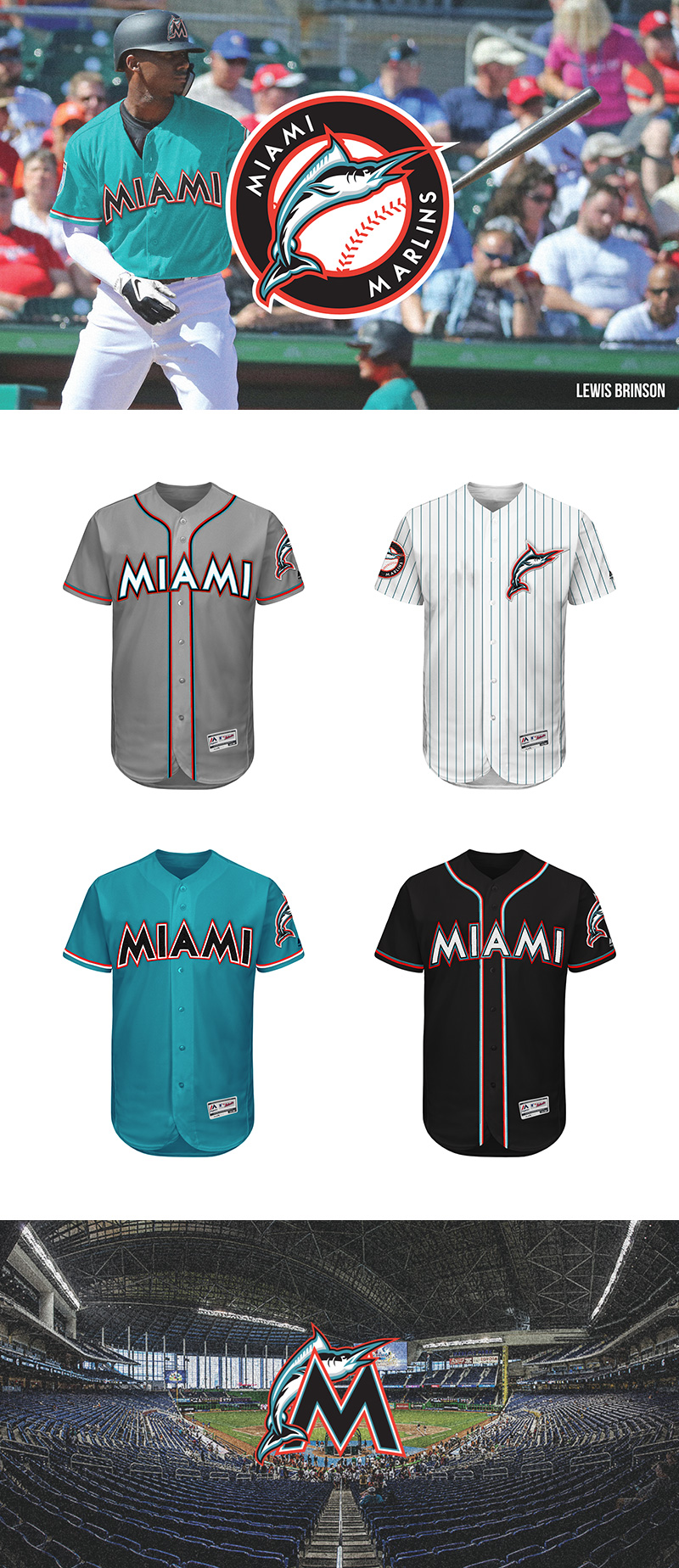 Miami Marlins Rebrand Concept by Alejandro Areces