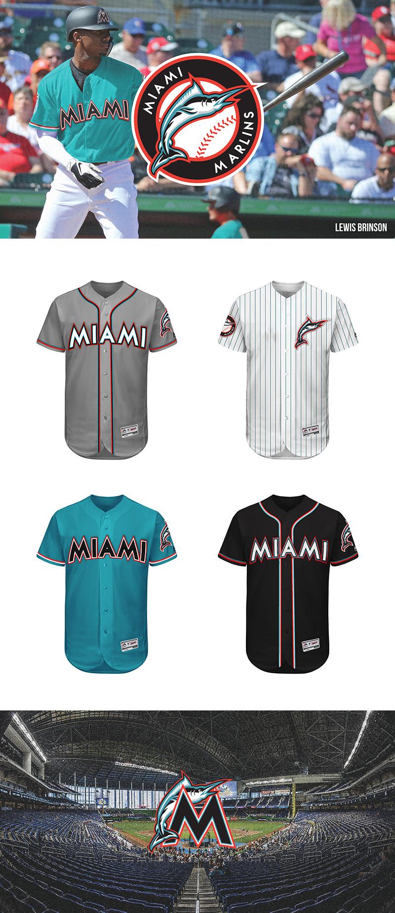 Miami Marlins Rebrand Concept by Alejandro Areces