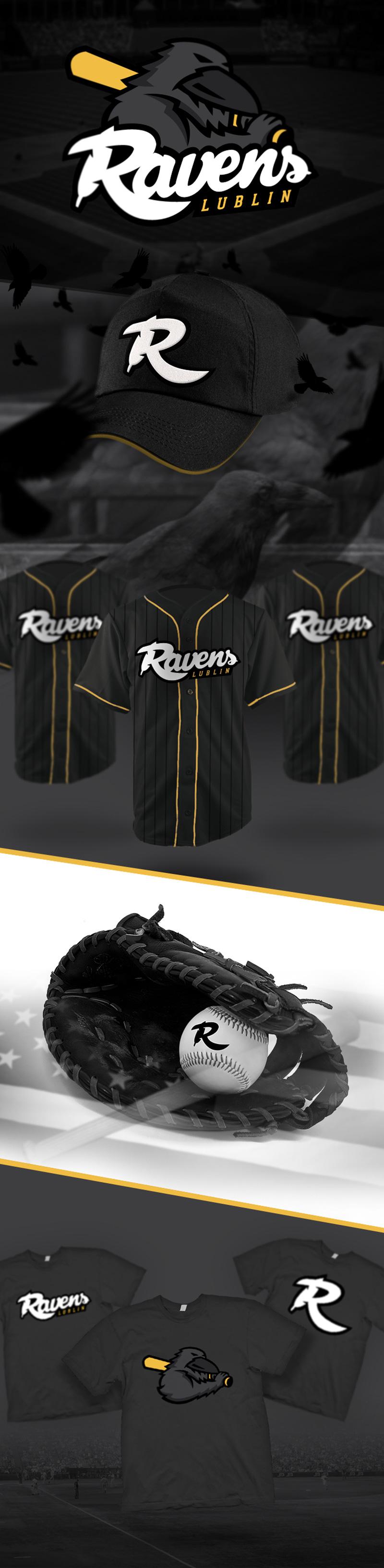 Ravens Lublin - baseball team by Karol Sidorowski