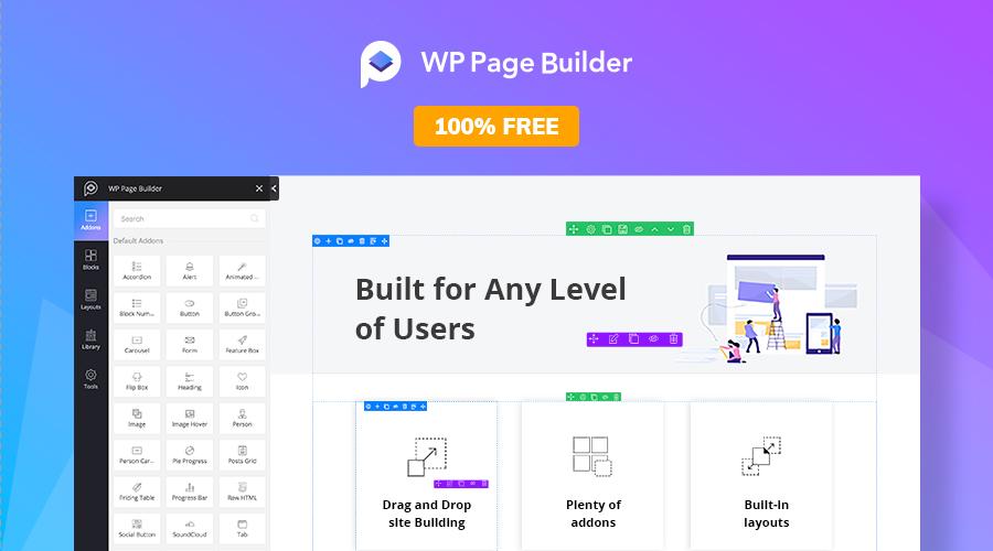 Popular Web Tools - WPPageBuilder