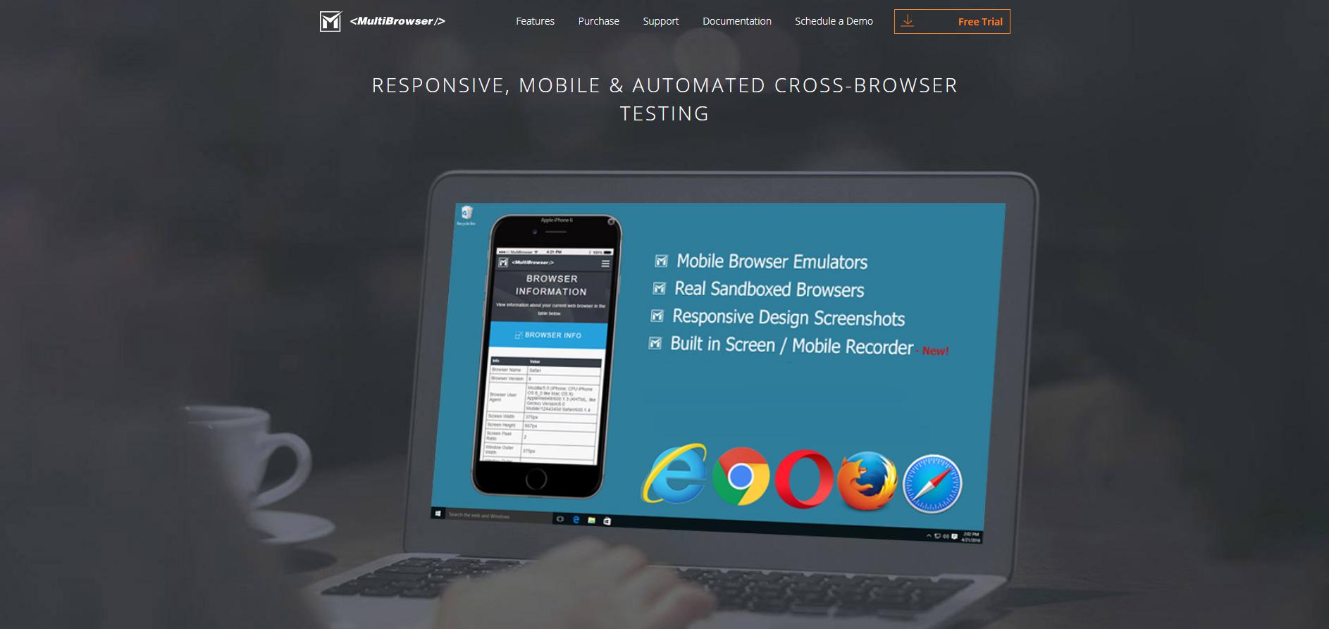 Popular Web Tools - MultiBrowser