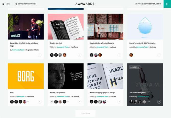 Card Style Website Design