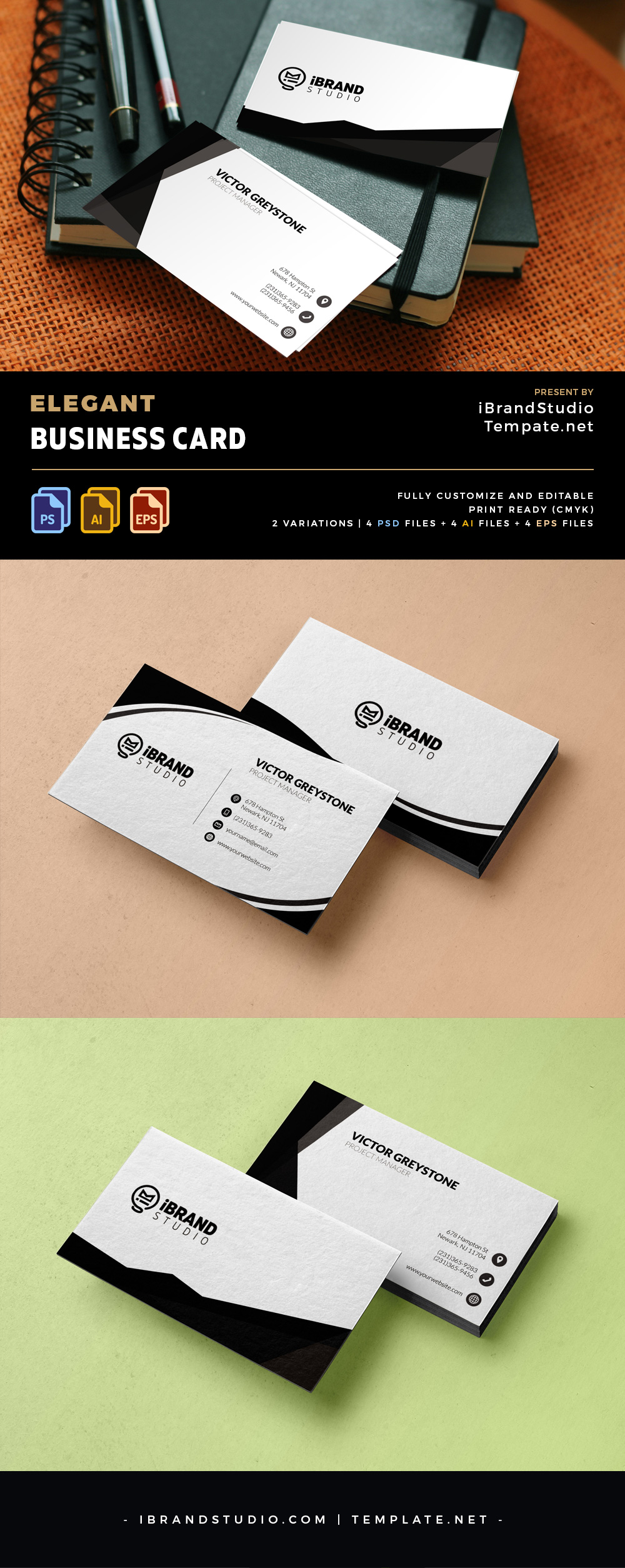 Free Ready-Made Business Card Templates