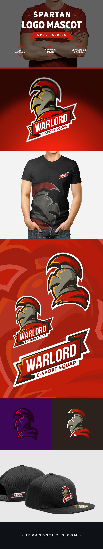 Free Spartan Logo Mascot Template