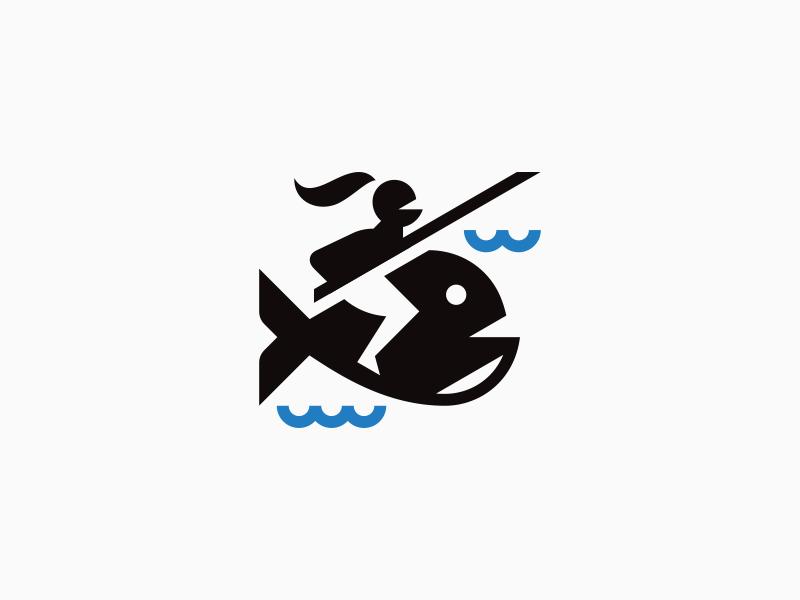 Fish knight - mark by Vadim Korotkov