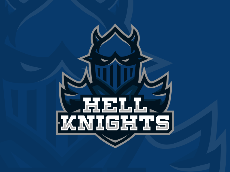 Hell Knights Mascot by Kyle Papple