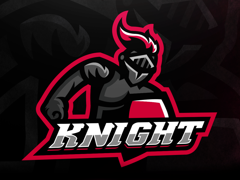 Knight Mascot Logo by Gijs Starmans
