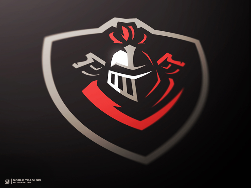 Knights Badge Logo by Derrick Stratton