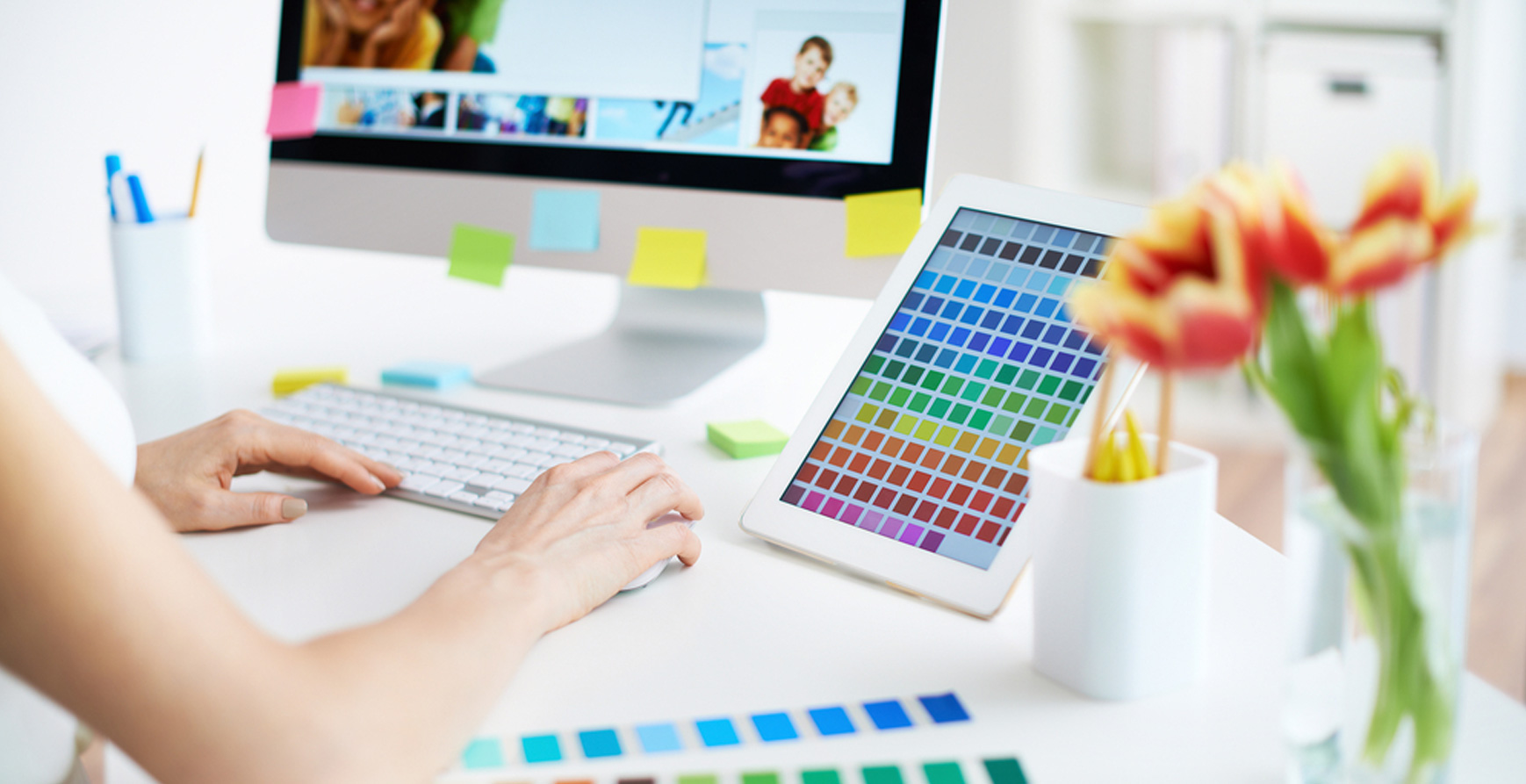 How to Choose Colors for Make Your Site Attractive to Visitors