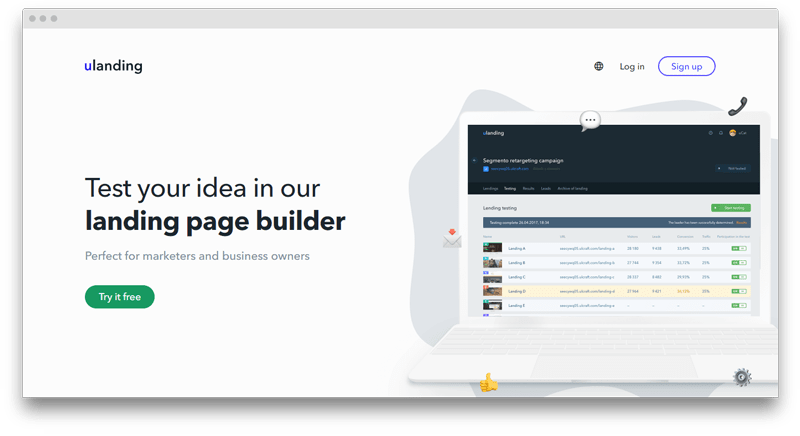 uLanding - Best Web Tools for Designers and Developers