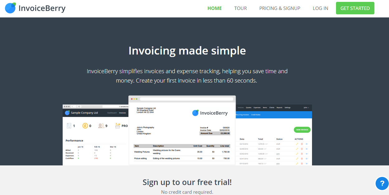 Invoice Berry - Best Web Tools for Designers and Developers