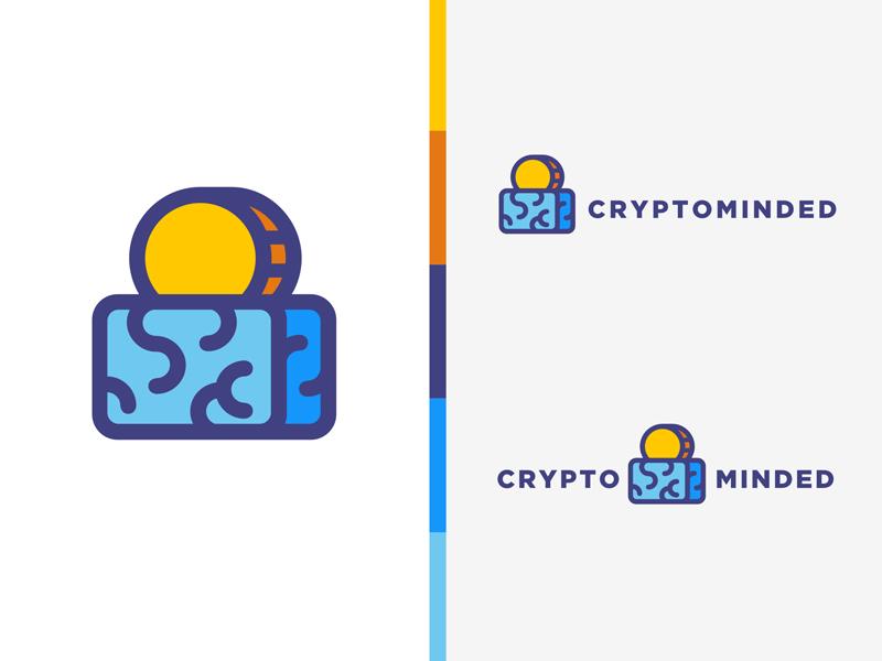 CryptomindedCryptominded Monoline Logo