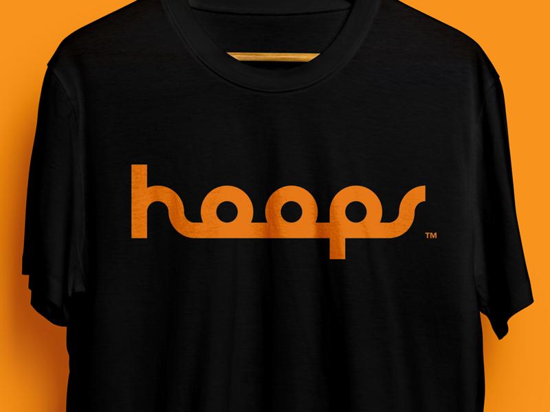 Hoops Monoline Logo