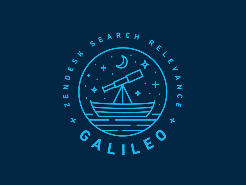 Zendesk Team Galileo Monoline Logo