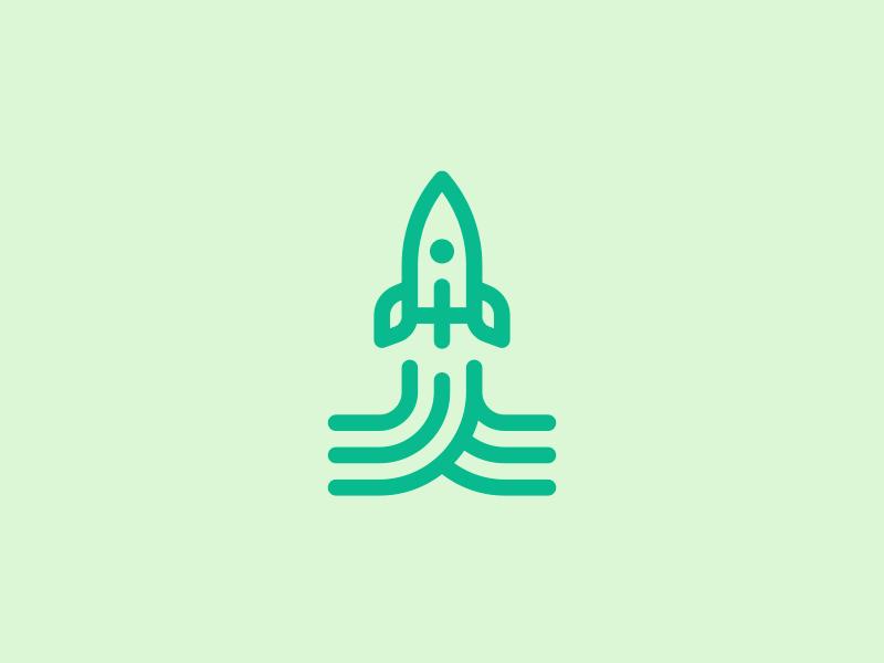 Agro Rocket - rocket logo