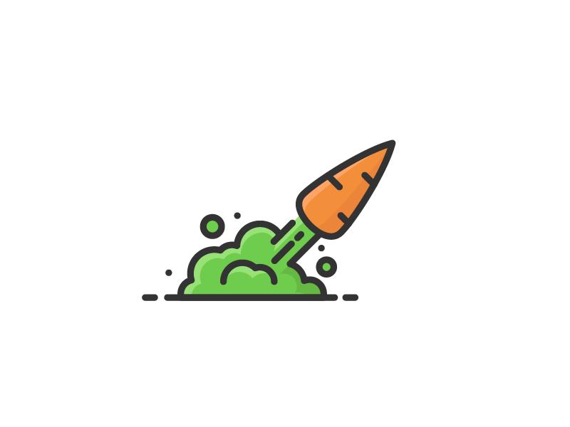 Carrocket - rocket logo