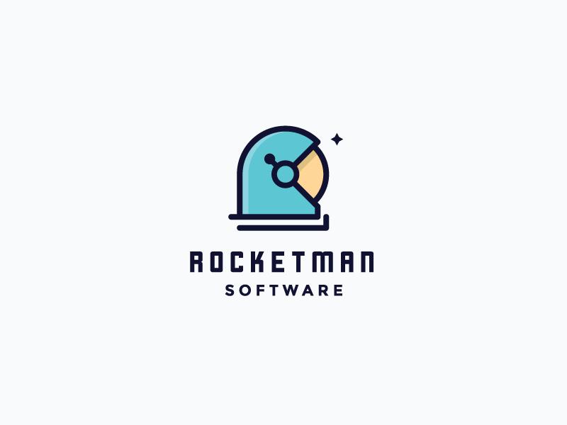 Rocketman Software - rocket logo