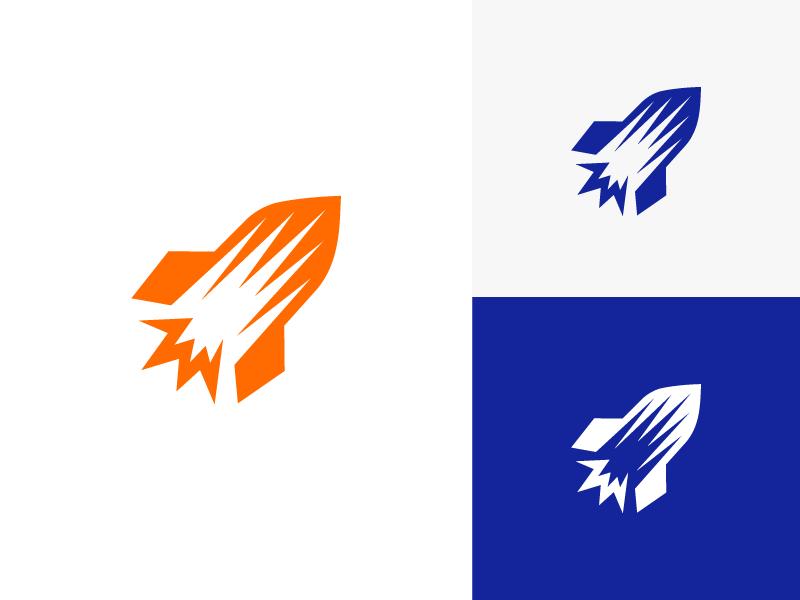 Alsodev Logo Design (Option 2) - rocket logo