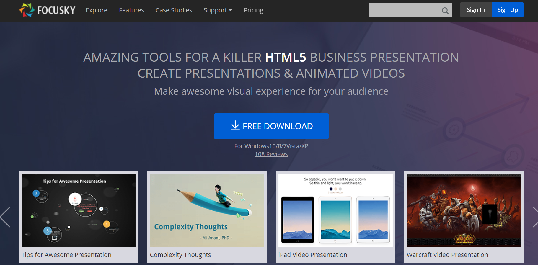 Focusky Presentation App