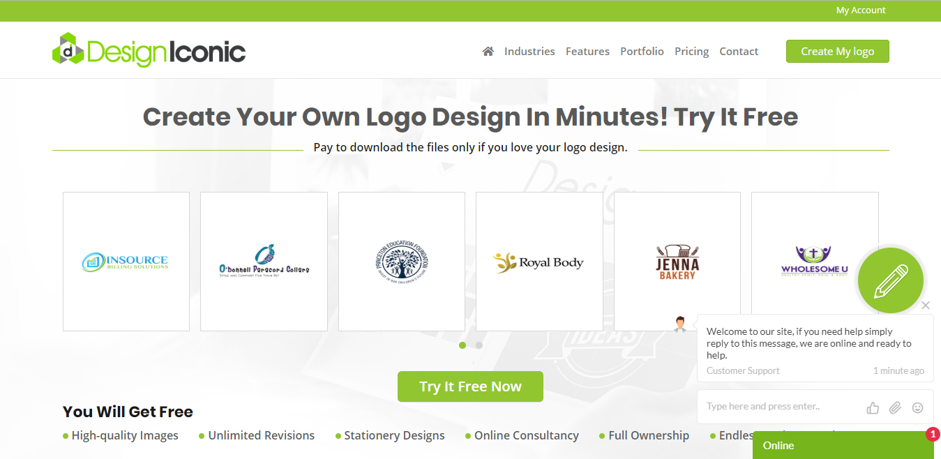 Design Iconic Logo Maker