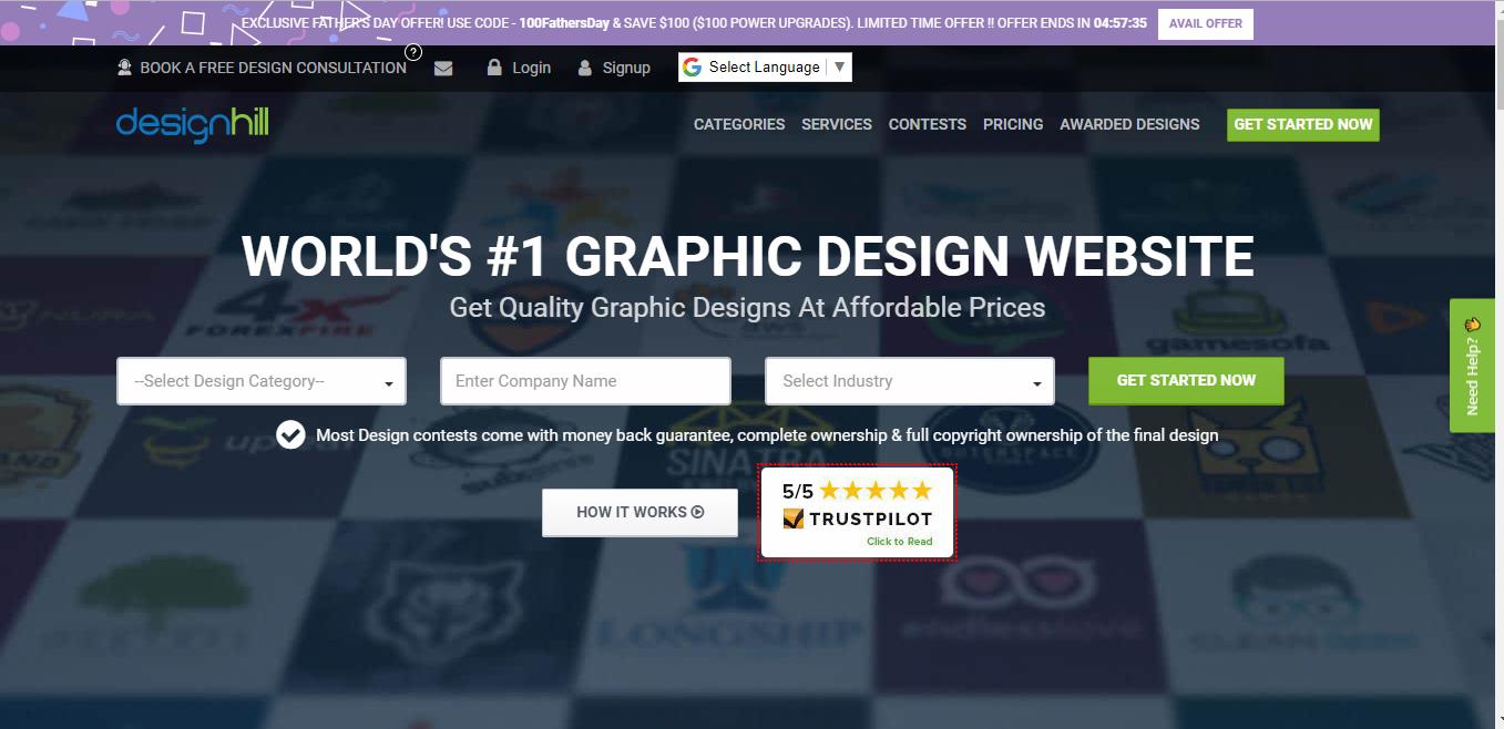 Designhill Free Logo Maker